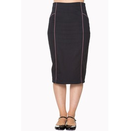 Banned Apparel J'adore Pencil Skirt