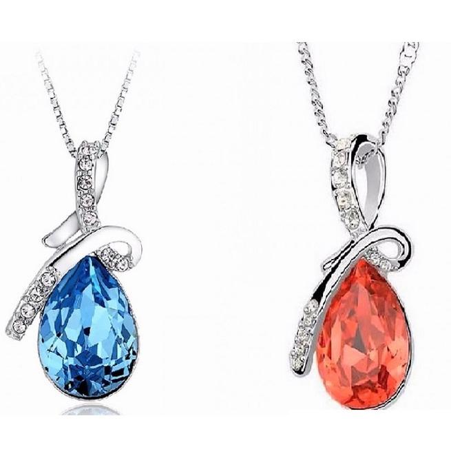 6d6a974e2 Sterling Silver Swarovski Crystal Diamond Tears Of   RebelsMarket