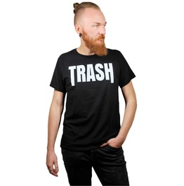 Trash Black T Shirt