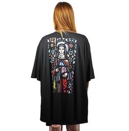 Divina Black Kimono