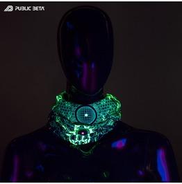Core Protector Uv Blacklight Reactive Tube Bandana Unisex Scarf Mask