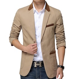 Casual Slim Fit Blazer Jacket Men