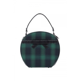 Voodoo Vixen Ivy Plaid Hat Bag