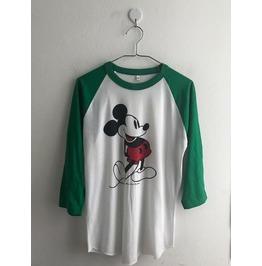 Mickey Fashion 3/4 Long Sleeve Baseball T Shirt