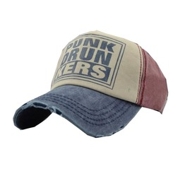 Cotton Letter Punkdrunkers Snapback Baseball Cap Men & Women