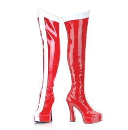 Wonder Woman Super Girl Hero Santa Gogo Boots ( Funtasma Electra 2090 )