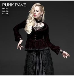 Punk Rave Women's Gothic Flare Sleeve Lace Jackets