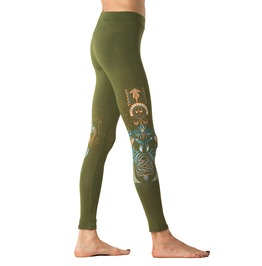 Kundalini Serpent Rising Leggings Womens Festival Clothing