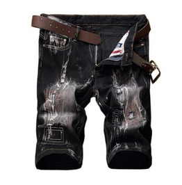 Distressed Mens Shorts