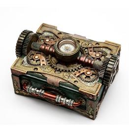 Steampunk Box W/Compass V8508