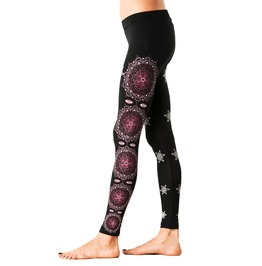 Space Traveller Graphic Leggings Psychedelic Printed Tights