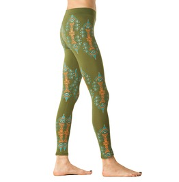 Psychedelic Fractals Leggings Music Concert Clothing