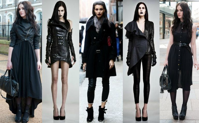 Best 6 Street Goth Fashion Style Ideas