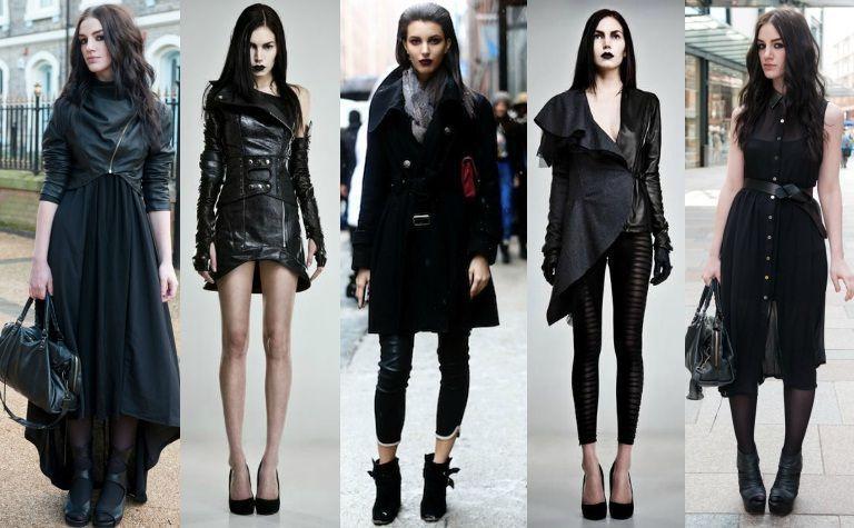Best 6 Street Goth Fashion Style Ideas