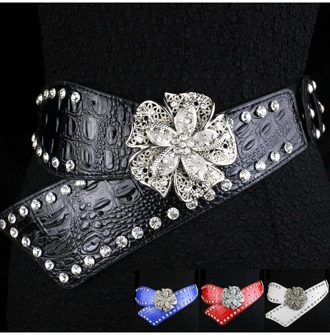 rebelsmarket_faux_diamond_leather_belt_high_fashion_flower_women_rivets_belt_belts_and_buckles_3.jpg