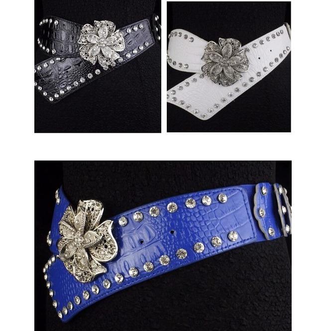 rebelsmarket_faux_diamond_leather_belt_high_fashion_flower_women_rivets_belt_belts_and_buckles_2.jpg