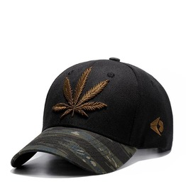 Unisex Summer Maple Leaves Camouflage Beach Baseball Cap Sports Caps