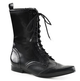 Demonia Winklepicker Pointed Toe Boots ( Brogue 10 )