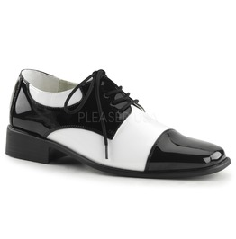 Pinup Style Gangster Mafia Costume Shoes