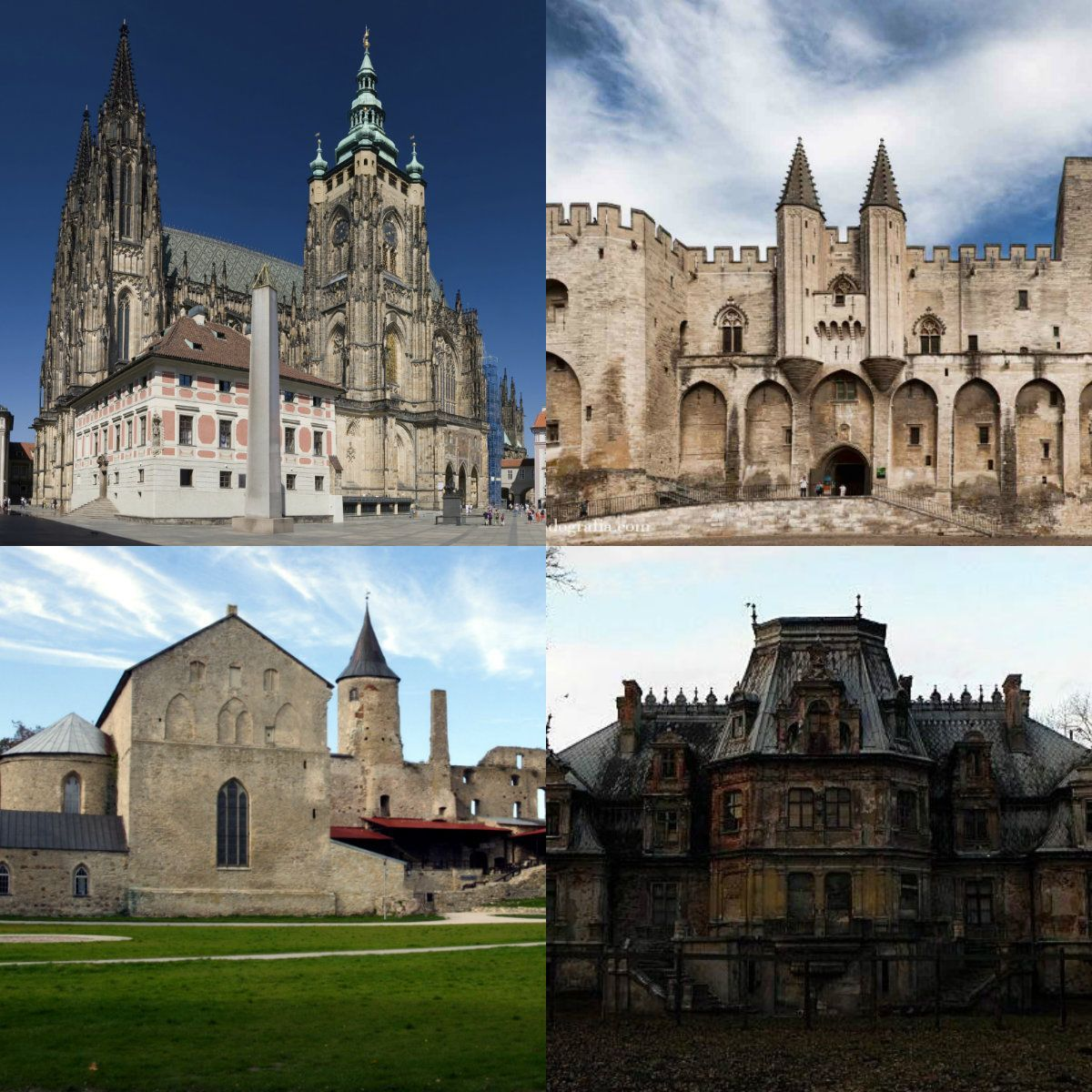 A tour of the most stunning gothic castles in europe