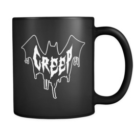 Bat Creep Black Mug 11oz