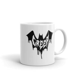 Bat Creep White Mug 11oz