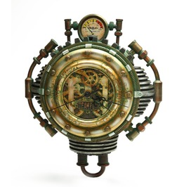 Steampunk Wall Clock V8510