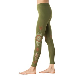 Sacred Yantra Symbol Legging Third Eye Legging