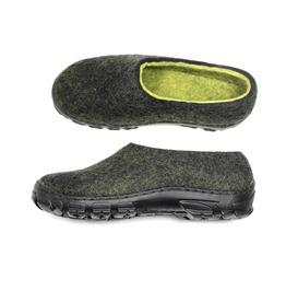 Custom Made Men Natural Wool Boots Color Blocking