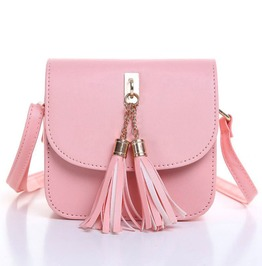 Small Tassel Shoulder Festival Bag
