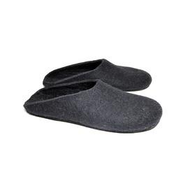 Custom Made Men Organic Merino Wool Clogs Modern Monochrome