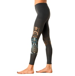 Yoga Chakra Rising Legging Womens Festival Clothing