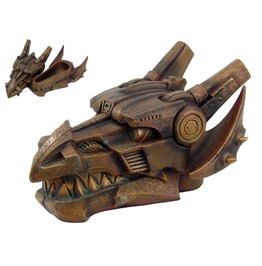 Steampunk Dragon Head Box V8653