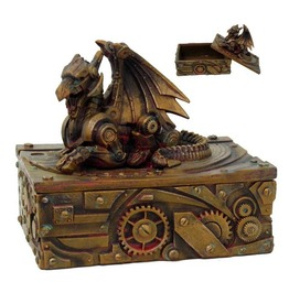 Steampunk Dragon Box V8652