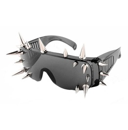 Steampunk Rivets Spikes Unisex Sunglasses