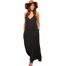 Long Sleeveless Maxi Beach Dress For Women