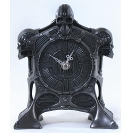Cyborg Skull Clock V8023