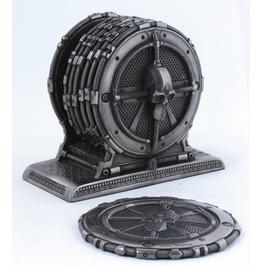 Cyborg Skull Coasters V8069