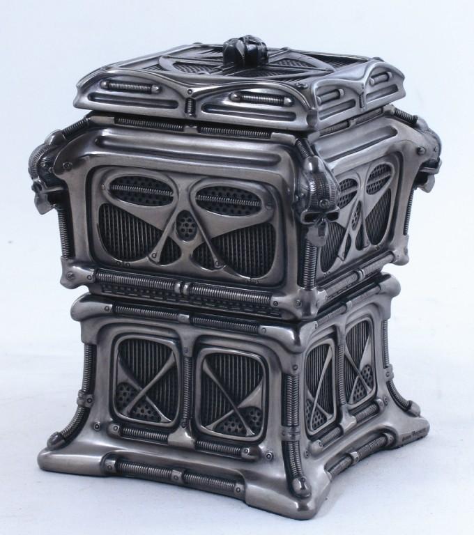 skull cyberpunk box