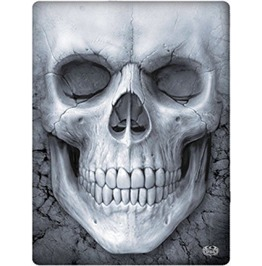Gothic Fleece Blanket Throw Skull Alternative Goth
