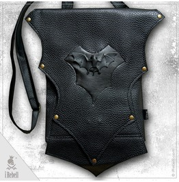 "Vampire Bag ""Bat"" Extraordinary Gothic Style Shoulder Bag"