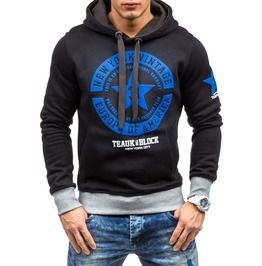 Men Sport Fashion Hooded Sweatshirts Hoodies