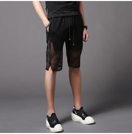 New Men's Summer Shorts Black Casual Short Pants