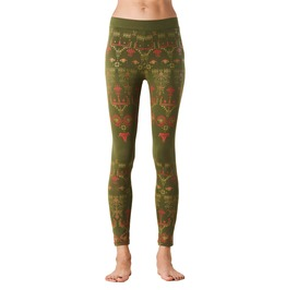Geometric Printed Leggings Decoding Symbols Legging