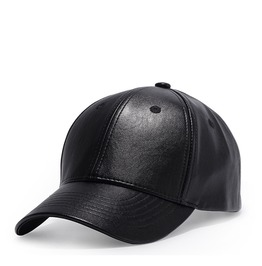 Unisex's Faux Leather Baseball Cap Outdoor Sports Hats Caps
