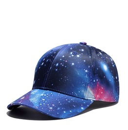Unisex's Hip Hop Starry Galaxy Sky Adjustable Baseball Cap Hat
