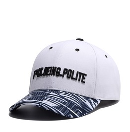 Unisex's Fuck Being Polite Embroideried Adjustable Sports Baseball Cap Hat