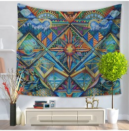 Unique Print Wall Tapestries D16