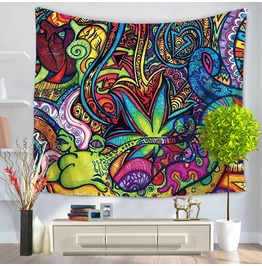 Unique Print Wall Tapestries D18