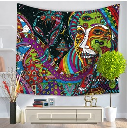 Unique Print Wall Tapestries D25